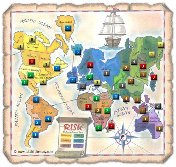Strategies For Playing Risk